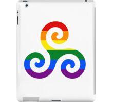 Gay Pride Teen Wolf Triskelion iPad Case/Skin