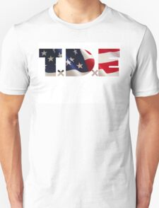 TDE TOP DAWG RED WHITE BLUE AMERICA FOURTH OF JULY 4TH Unisex T-Shirt