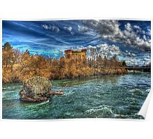 Riverfront Park Falls Poster