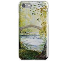 Ilam in the Peak District iPhone Case/Skin