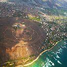 Diamond Head in Waikiki Beach - Honolulu, OAHU HAWAII by Atanas Bozhikov NASKO
