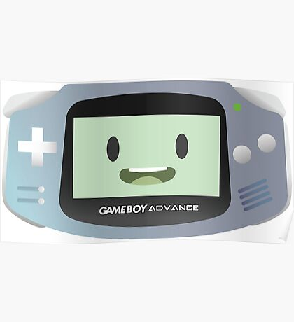 BMO - Clear GBA Poster