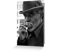 Sweet Blue Notes Rollin' Freely Greeting Card
