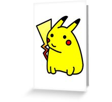 Pika-blob Greeting Card