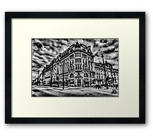 London in Motion Framed Print