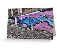 Graffiti 2 Greeting Card
