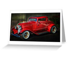 A Classic - 1932 Ford Coupe Greeting Card