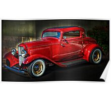 A Classic - 1932 Ford Coupe Poster