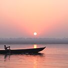 Life on Varanasi  by tracyleephoto