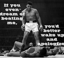 Muhammad Ali by LuigiMrz