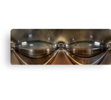 Elbe Tunnel - 360 HDR Panoramic Canvas Print