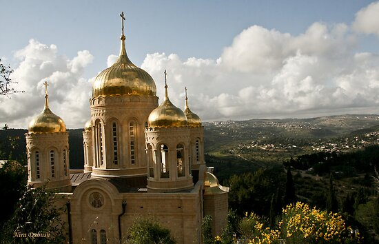 Russion Church - Ein Kerem - Jerusalem by Nira Dabush