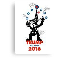 Trump Has Balls Canvas Print