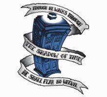 Dr Who Blue by Paula Stirland