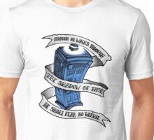 Dr Who Blue Unisex T-Shirt