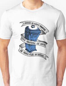Dr Who Blue T-Shirt