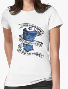 Dr Who Blue T-Shirt