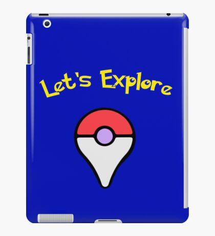 Let's Explore iPad Case/Skin
