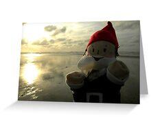 Shining Water Gnome Greeting Card