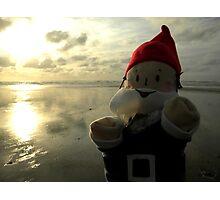 Shining Water Gnome Photographic Print