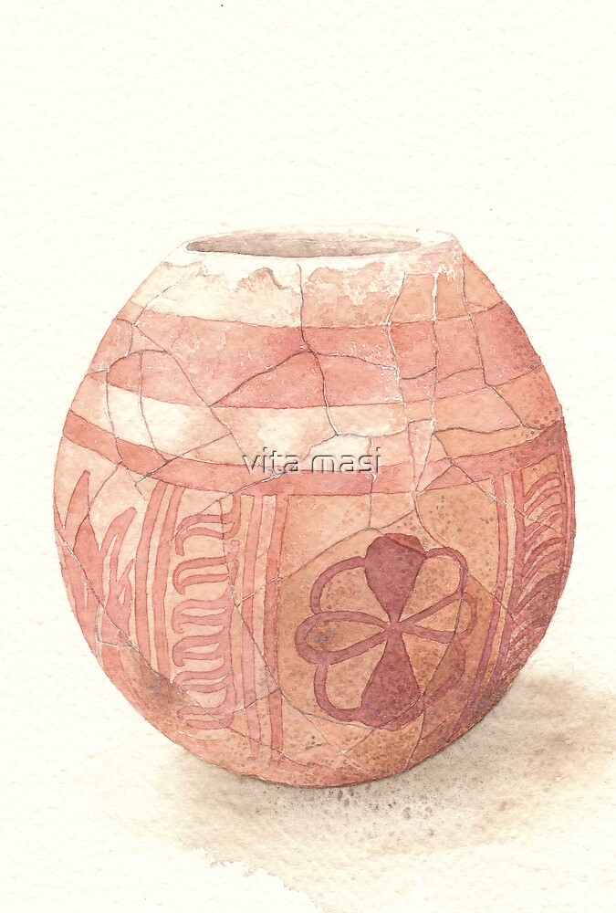 Decorated ostrich egg by vimasi