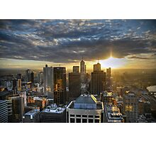 Melbourne Sunrise HDR Photographic Print