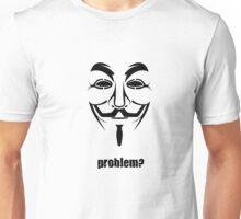 Anonymous - Guy Fawkes Mask Symbol Unisex T-Shirt