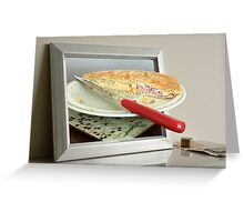 Do you dream in PIE? Greeting Card