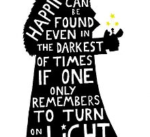 Harry Potter Dumbledore quote by BadgerArt