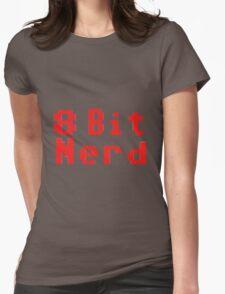 8 Bit Nerd Womens Fitted T-Shirt