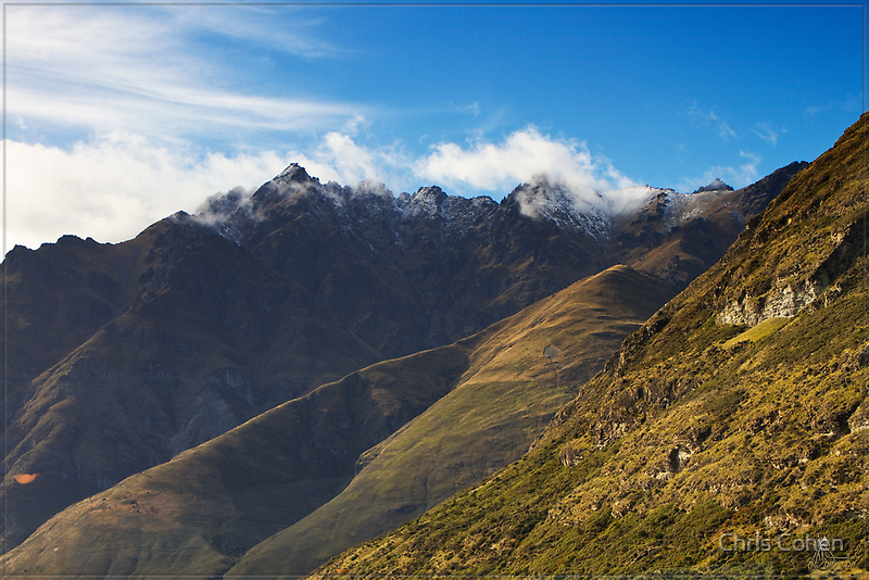 N.Z. Rugged Mountains 13 by Chris Cohen