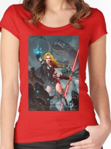 Darth Zannah Women's Fitted Scoop T-Shirt
