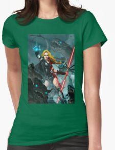 Darth Zannah Womens Fitted T-Shirt