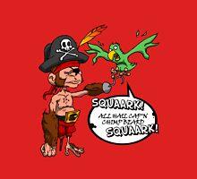 All Hail Cap'n Chimp Beard!  Unisex T-Shirt