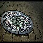 Manhole Art, Osaka by berndt2
