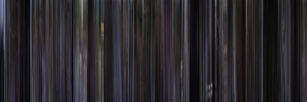 Moviebarcode: Donnie Darko (2001) by moviebarcode