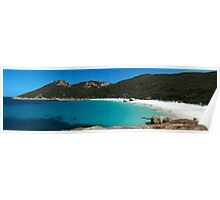 Little Beach Panorama, Two Peoples Bay Poster
