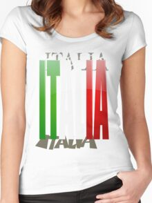 Bella Italia Women's Fitted Scoop T-Shirt
