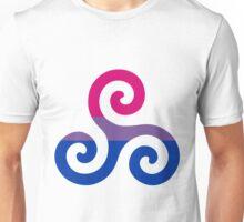 Bisexual Pride Teen Wolf Triskelion Unisex T-Shirt