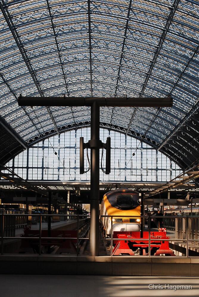 Eurostar, St Pancras International Station, London by Chris Hageman