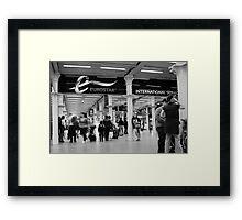 Eurostar Framed Print