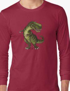 Animal Parade Tyrannosaurus Silhouette Long Sleeve T-Shirt