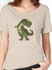 Animal Parade Tyrannosaurus Silhouette Women's Relaxed Fit T-Shirt