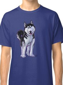 Animal Parade Husky Silhouette Classic T-Shirt