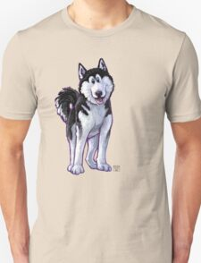 Animal Parade Husky Silhouette Unisex T-Shirt