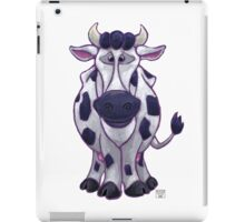Animal Parade Cow Silhouette iPad Case/Skin