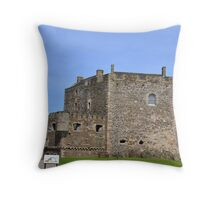 Blackness Castle Throw Pillow