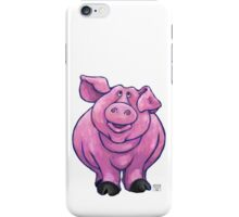 Animal Parade Pig Silhouette iPhone Case/Skin