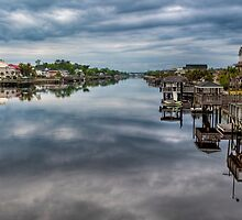 Atlantic Intracoastal Waterway by Joe Jennelle