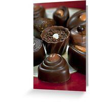 Chocolates For Mum Greeting Card